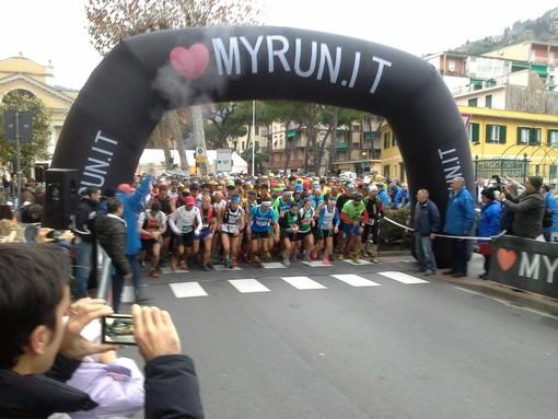La partenza di una delle scorse edizioni del Trail di Portofino