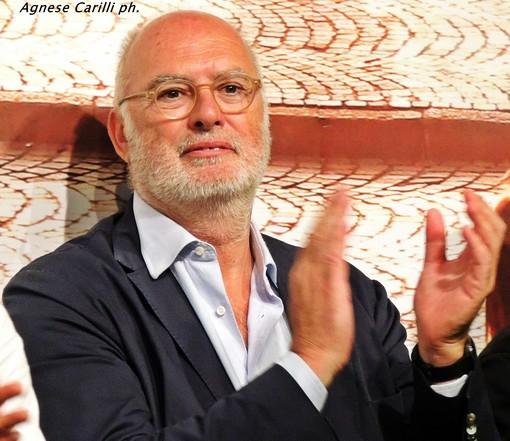 Antonio Gozzi può applaudire la sua Virtus Entella, che gli ha regalato il primo successo stagionale, così da festeggiare nel migliore dei modi il decennale di presidenza (foto Agnese Carilli)
